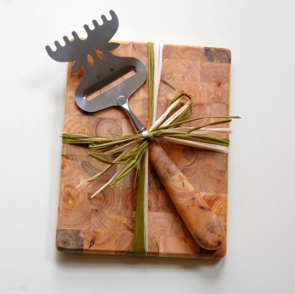 Cheese Board Moose Slicer